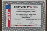 Photo europejski certyfikat rzetelni w biznesie 2012