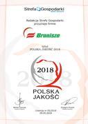 Awards bronisze   certyfikat 2018